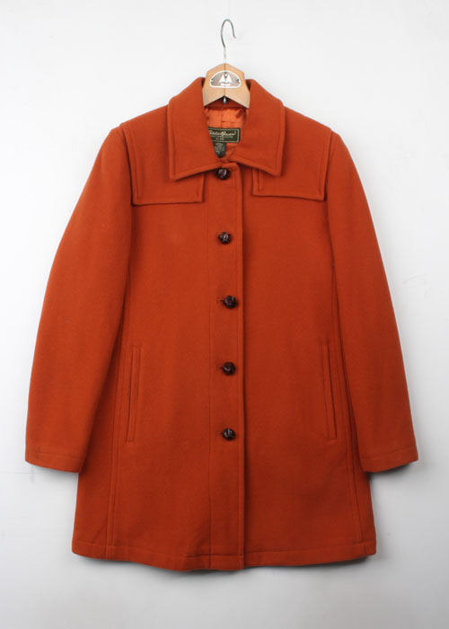 Eddie Bauer wool coat