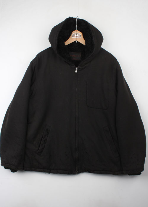 UnderCoverism damage hoodie parka