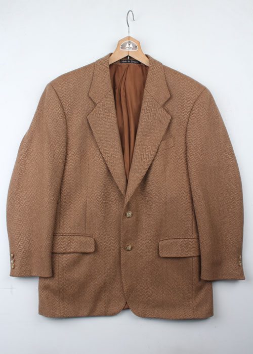BROOK TAVERNER camel hair jacket