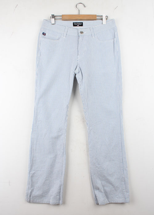 POLO JEANS seer sucker pants