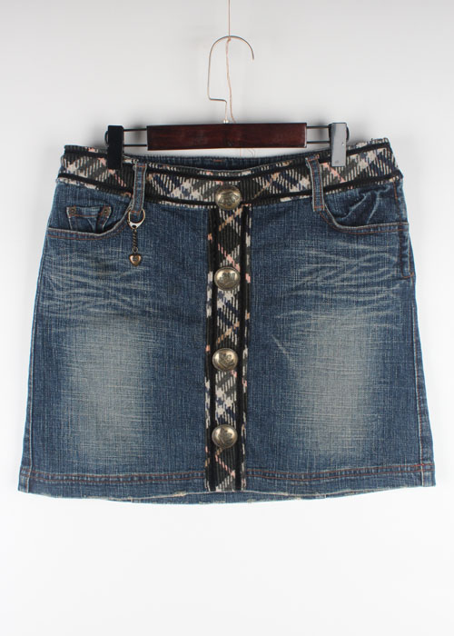 BURBERRY BLUE LABEL denim skirt