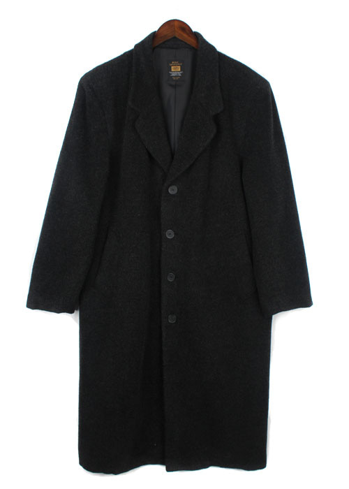 BLUE VACATION wool coat