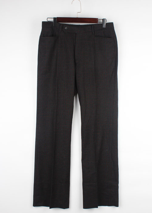 ATELIER SAB for men wool check pants(32)