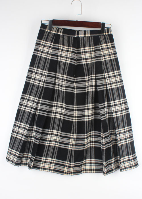 THE SCOTCH HOUSE tweed wool skirt