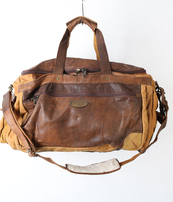 OVERLAND OUTFITTERS leather travel bag
