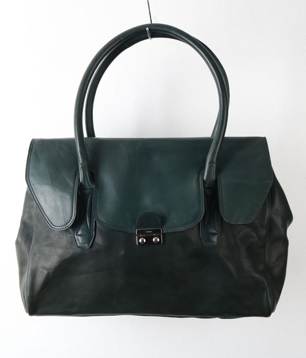 CIMABUE leather big bag