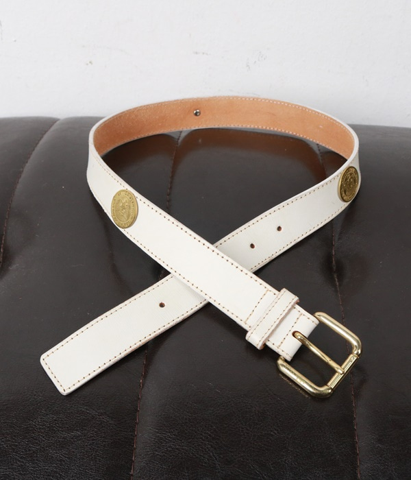 vtg leather belt