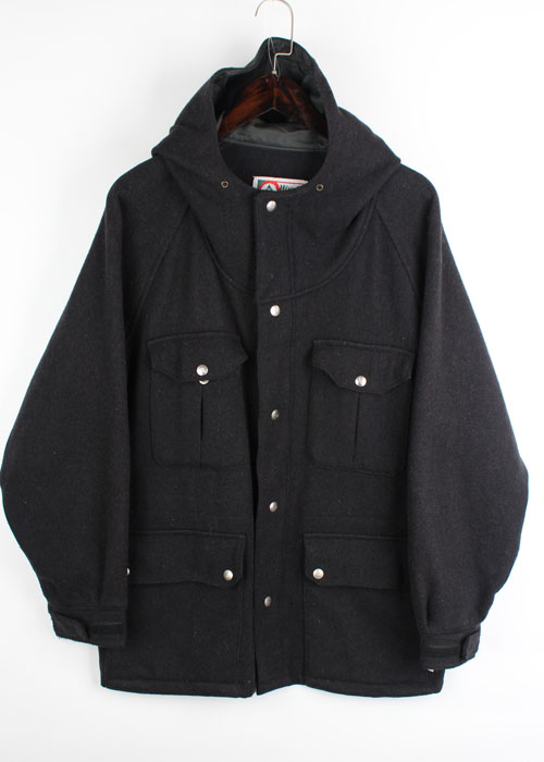 WOODS wool mountain parka
