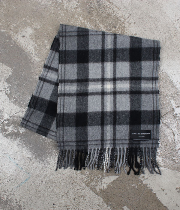 SCOTTISH TRADITION wool muffler