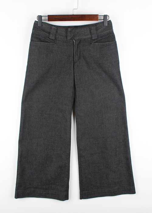 DKNY wide denim pants