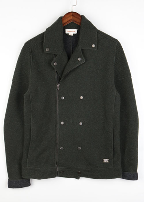DIESEL wool knit jacket