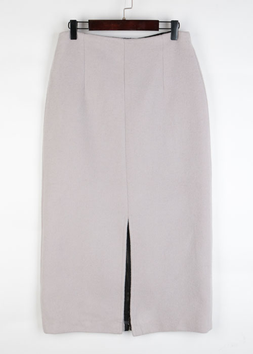 Mhairi wool skirt