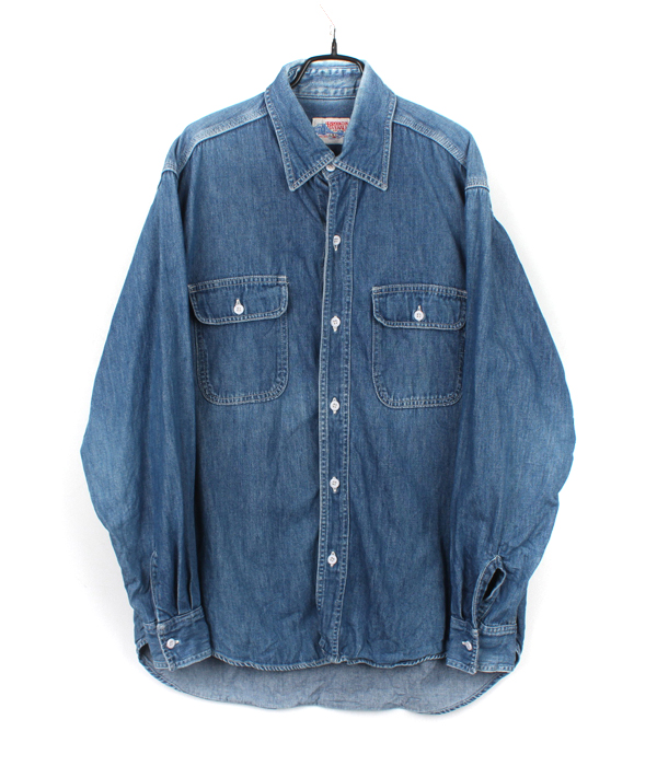 BROOKLYN OVERALL CO. washed denim shirts