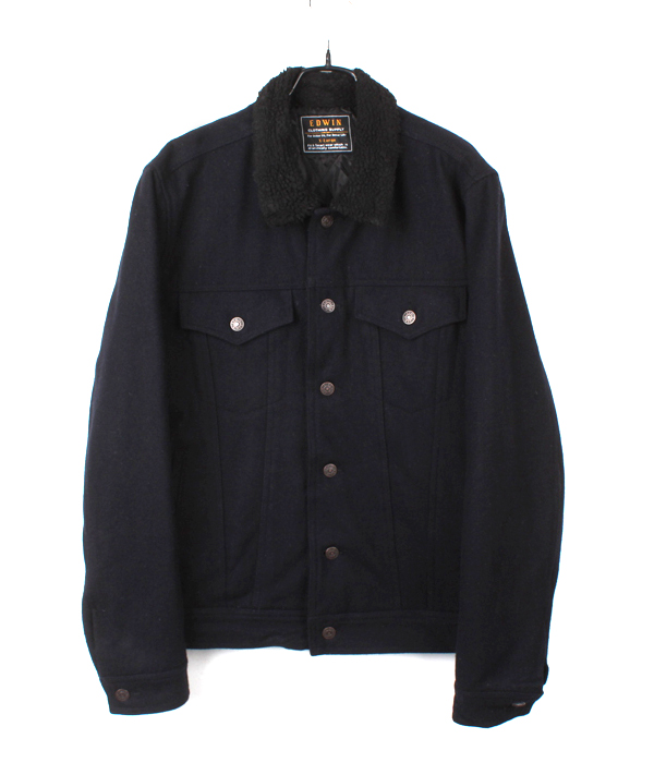 EDWIN wool trucker jacket