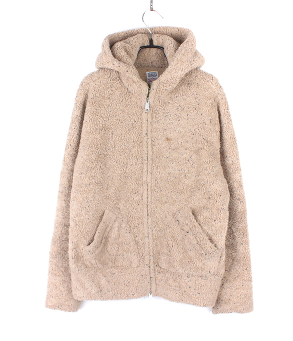 (+1)RAGS zip-up fleece hoodie