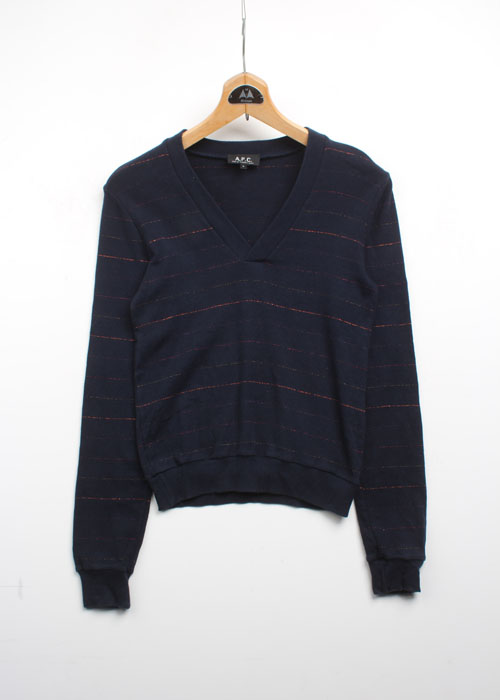A.P.C cotton knit top