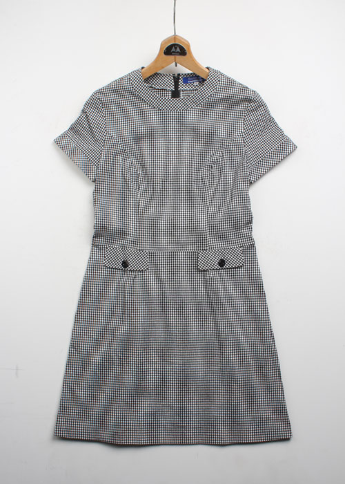 BURBERRY BLUE LABEL check one-piece