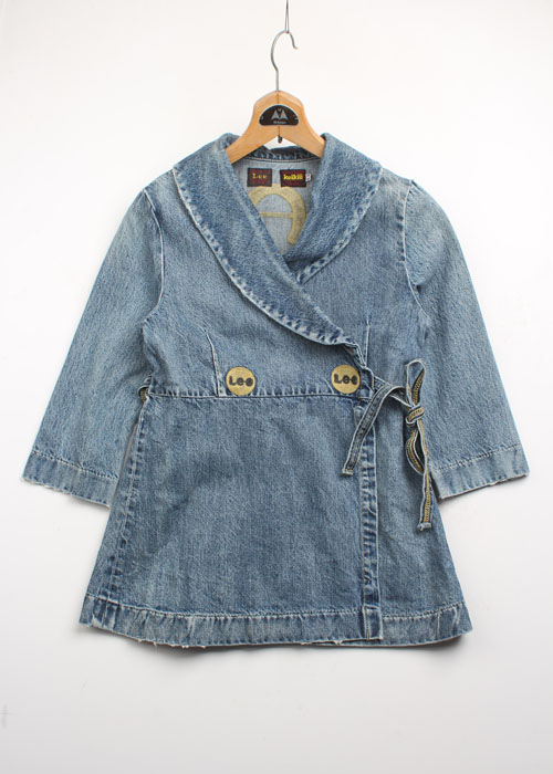 Lee x keikiii denim jacket