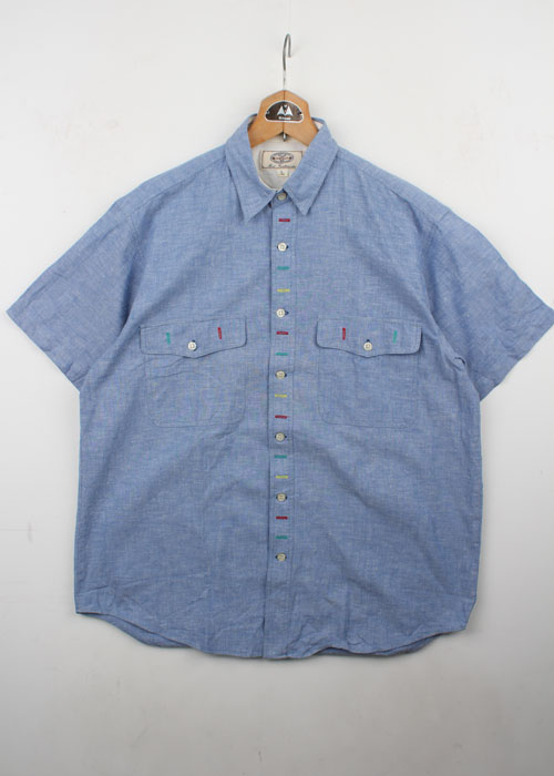 NICE TO WEAR chambray shirts