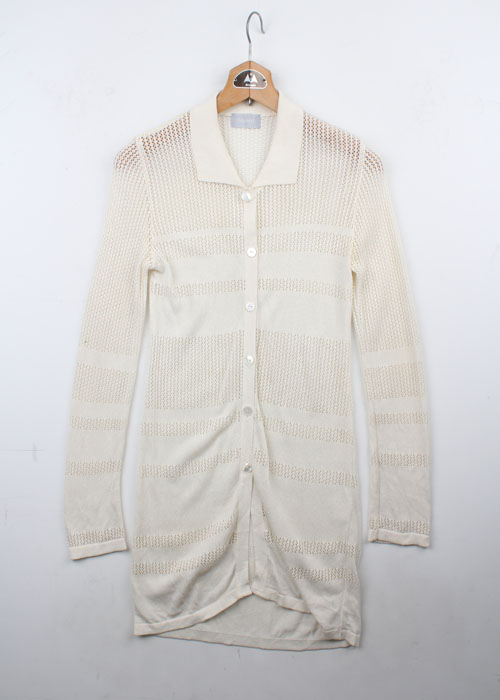 (+1)from nil mesh knit cardigan