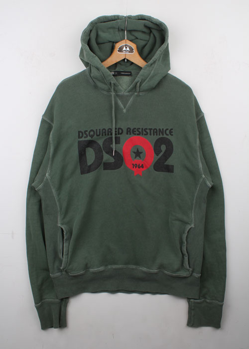 DSQUARED2 cotton sweat hoodie