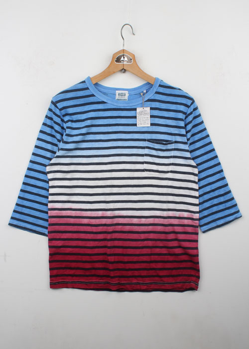 DENIME stripe t-shirts