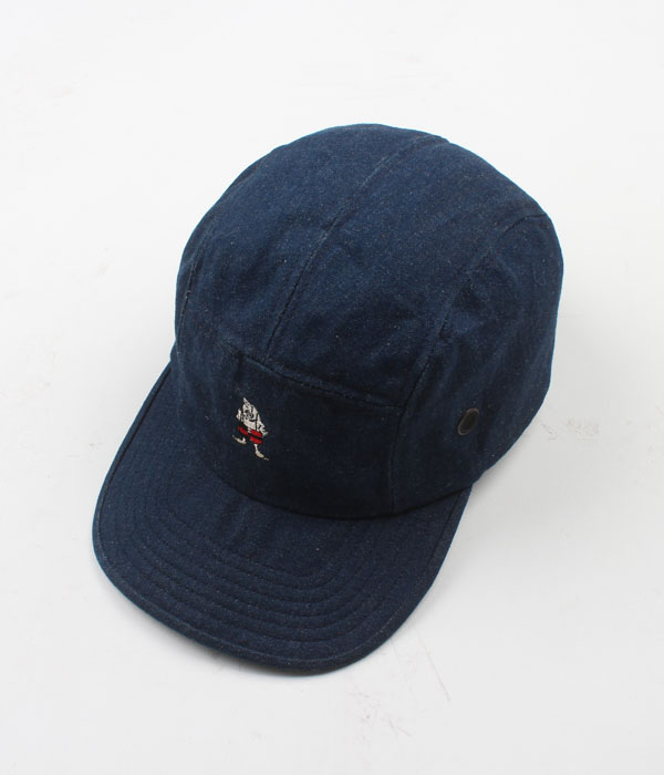 NEW YORK HAT&CAP CO. denim camp cap