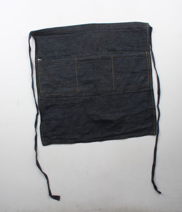 (+1)denim apron
