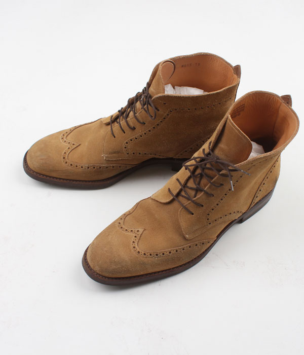 HARRIS wing tip suede boots(290)