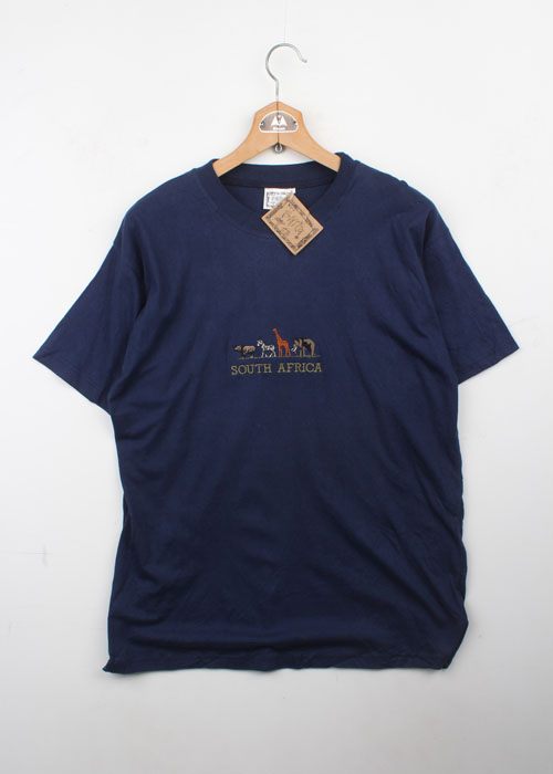 africa embroid t-shirts