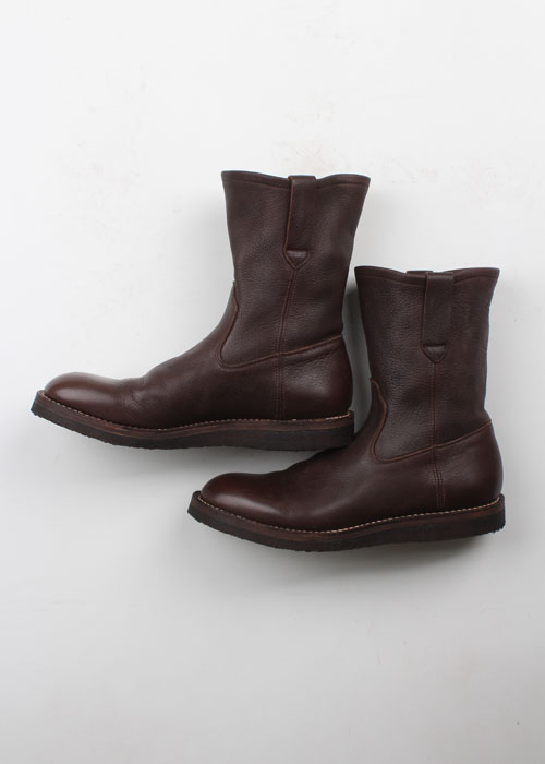 needles leather boots (265~270mm)