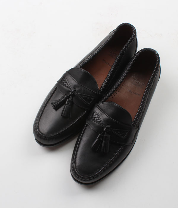 Allen Edmonds calfskin leather  tassel loafer( 10.5 D/E)