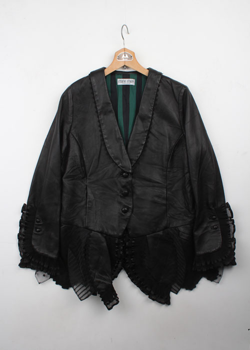 MEIKO KITAHARA sheep skin leather jacket
