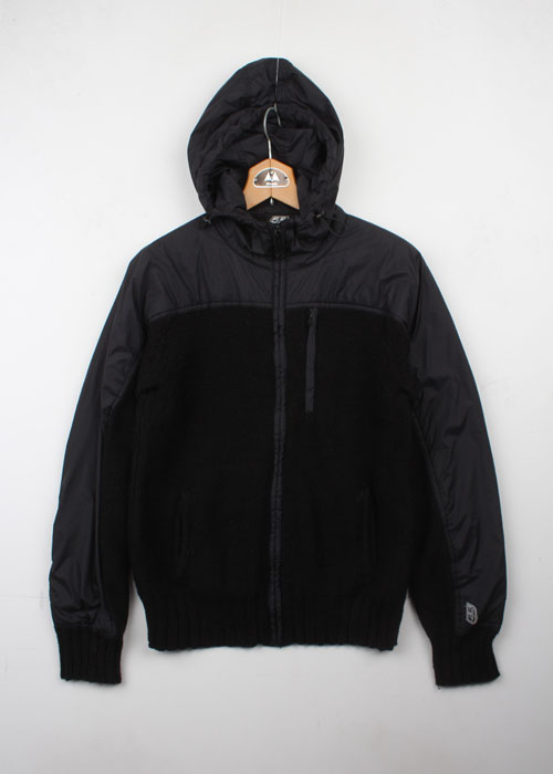55DSL zip-up knit