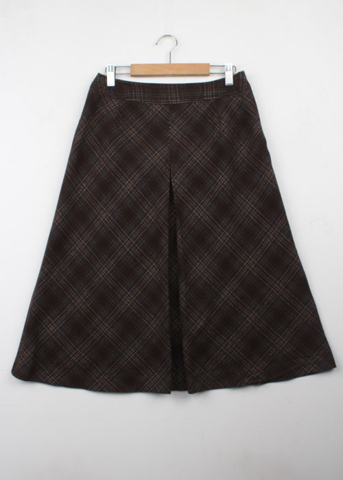 Eddie Bauer tweed wool skirt