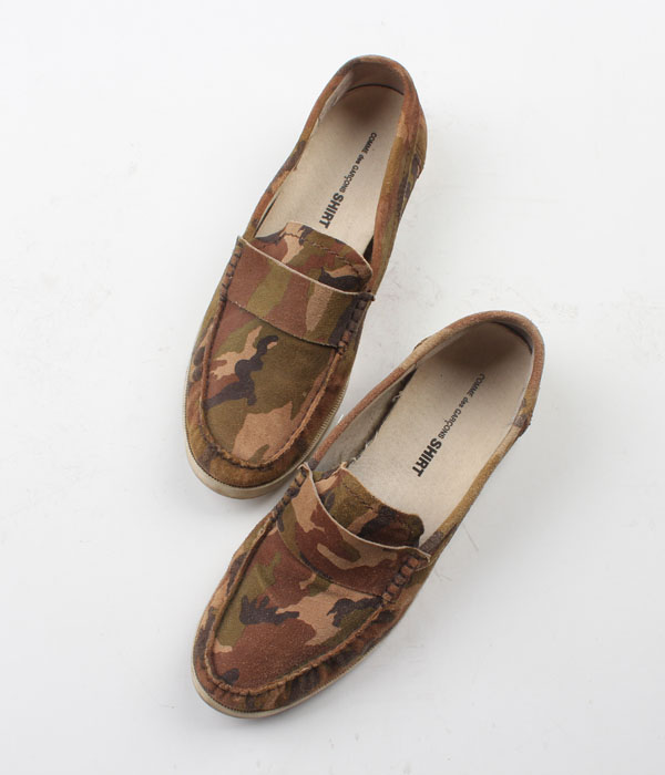 COMME des GARCONS SHIRTS camo patter shoes(US9)