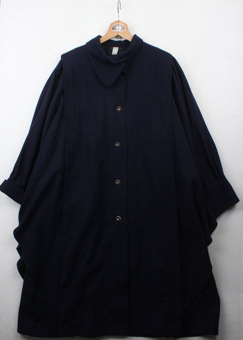 vtg over size wool coat