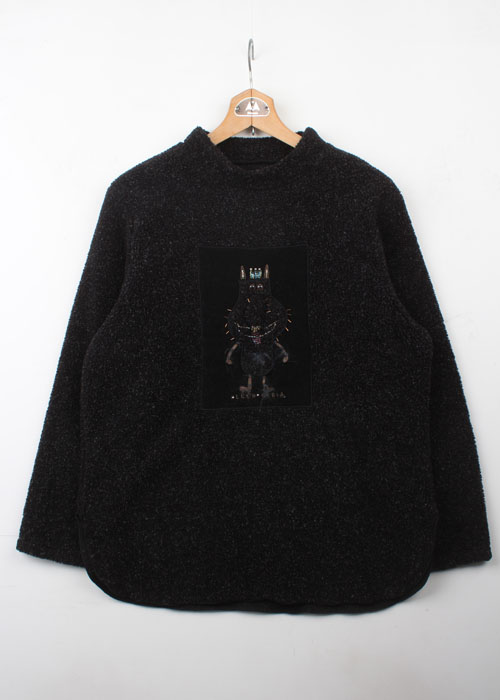 OLLEBOREBLA fleece top