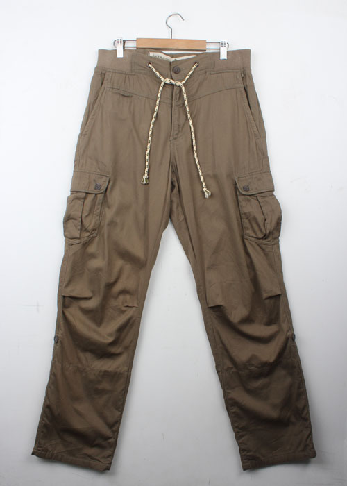 BACK NUMBER string cargo pants(31~34)
