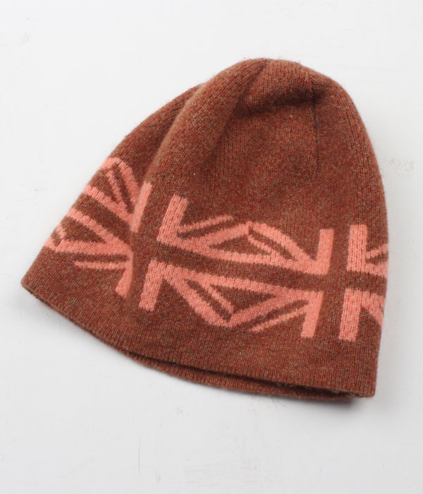 GLEN PRINCE wool knit beanie