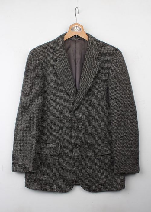 RING JACKET x HARRIS TWEED jacket