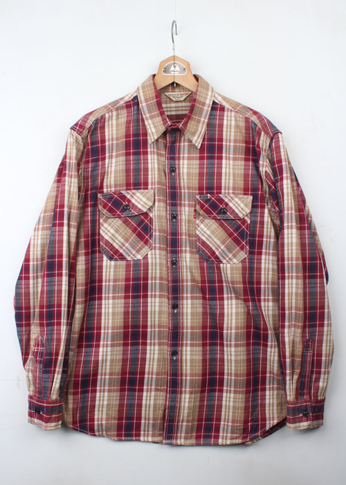 Levi's Red Tab check shirts