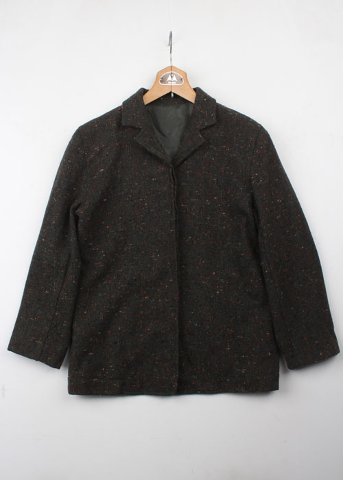 MARINE FRANCAISE tweed wool jacket