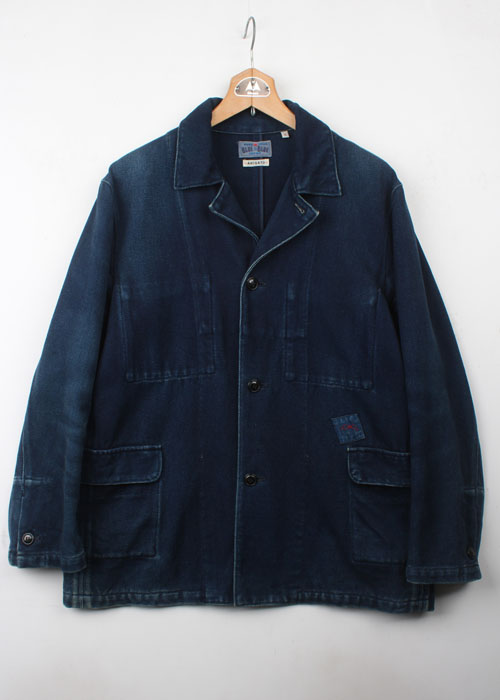 BLUE BLUE indigo cotton jacket