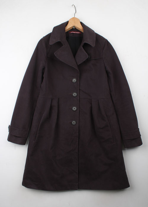 COMPTOIR DES COTONNIERS heavy cotton coat