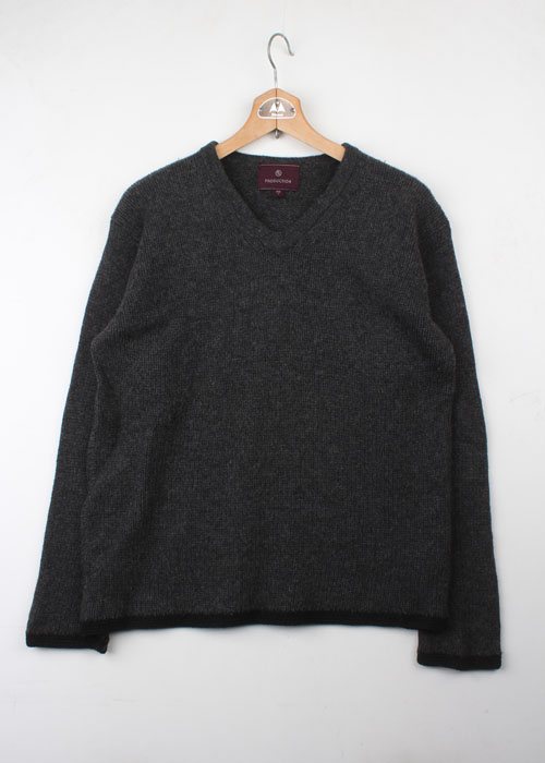 PRODUCTION wool knit