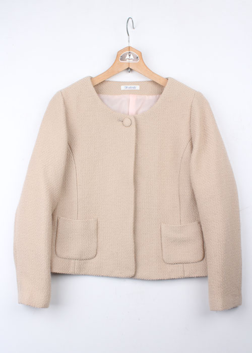 Te chichi tweed wool jacket