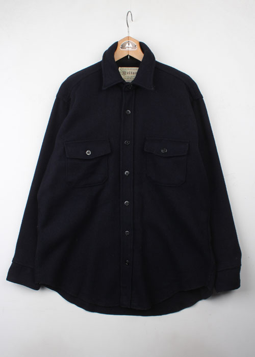 Melton c.p.o wool shirts