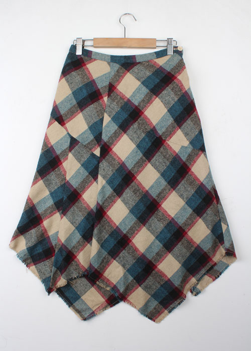 GLOBAL WORK wool skirt