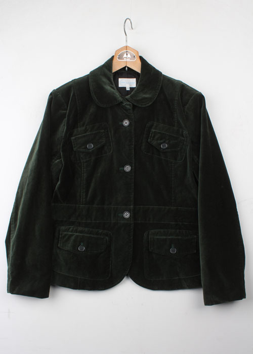 VAN JAC velour jacket